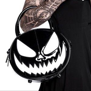 Killstar Hell-O-Ween Pumpkin Handbag